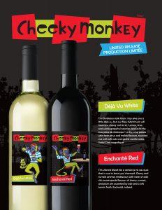 Cheeky Monkey LR16 fsheet black